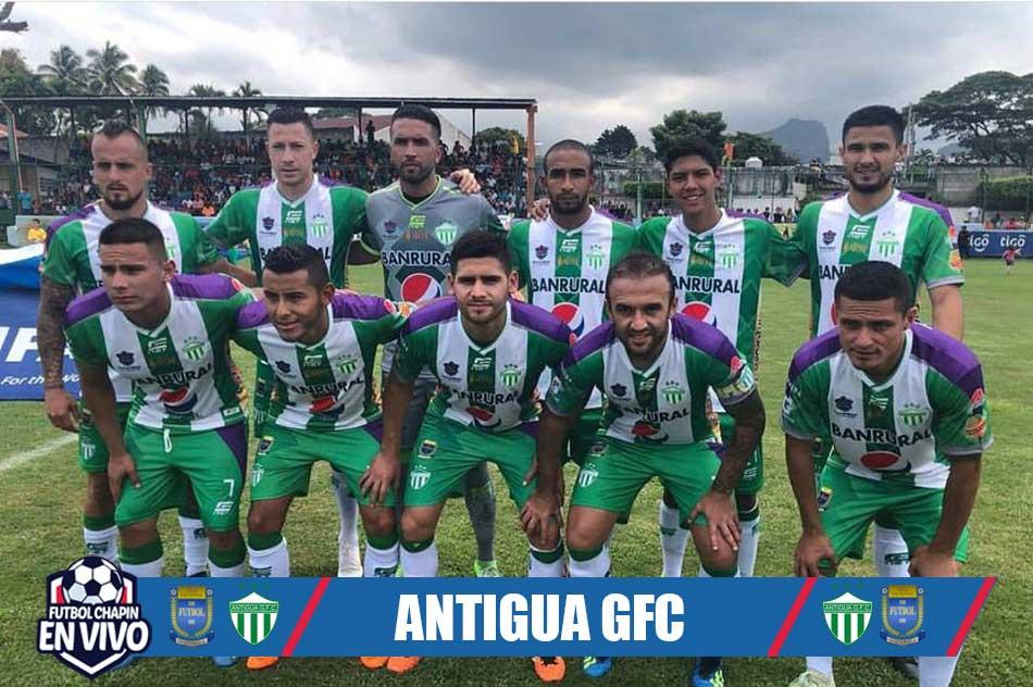 Antigua Plantilla 2018
