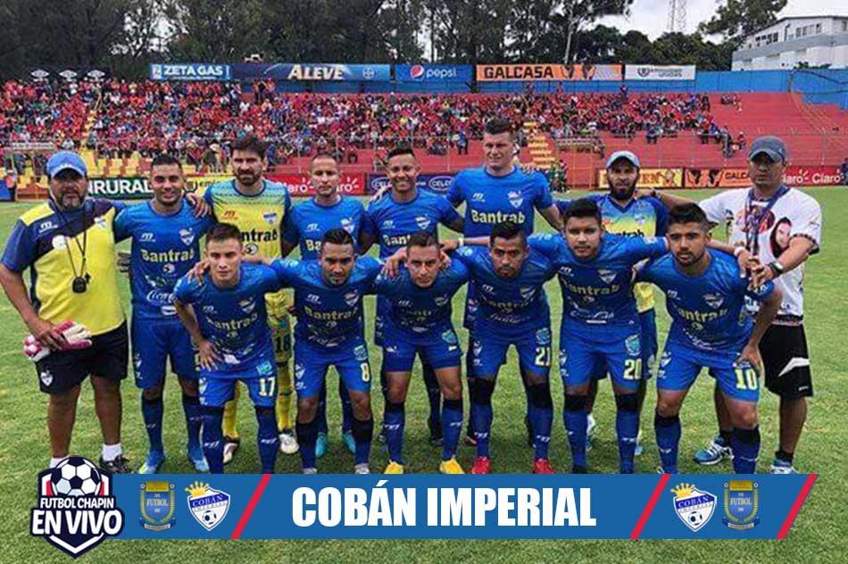 Cobán Imperial Plantilla 2020