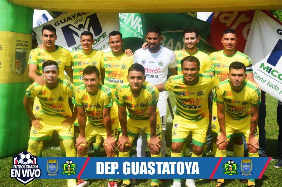 Deportivo Guastatoya Plantilla 2020