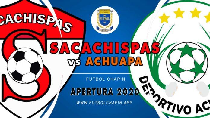 Sacachispas vs Achuapa en vivo