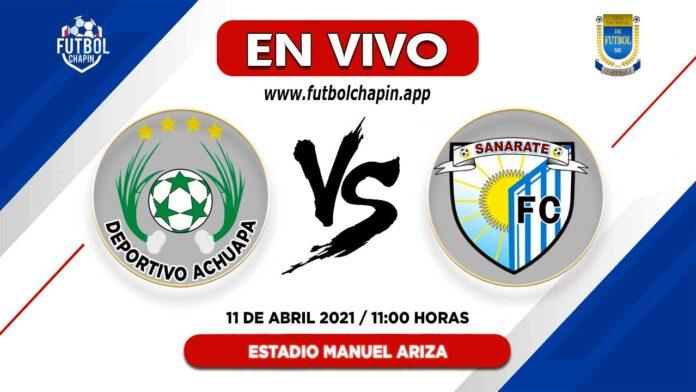 Achuapa-vs-Sanarate-en-vivo