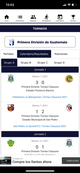 futbol chapin app5