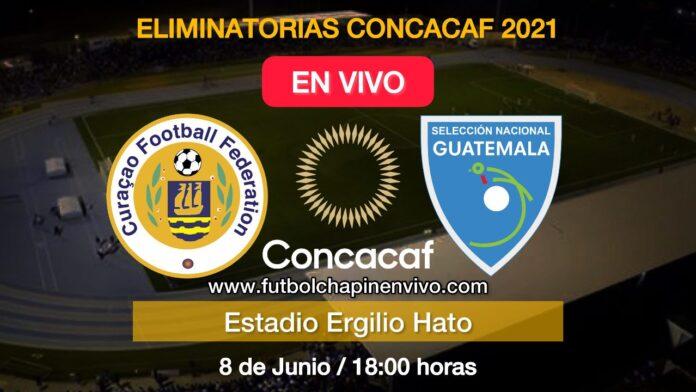 Curazao vs Guatemala en vivo online en directo