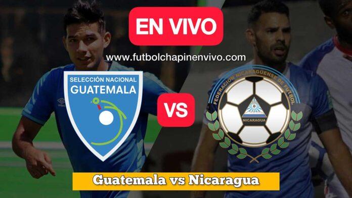 Guatemala-vs-Nicaragua-amistoso-internacional